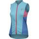 PEARL iZUMi Select Pursuit Sleeveless Jersey Women aqua blue/atomic blue diffuse